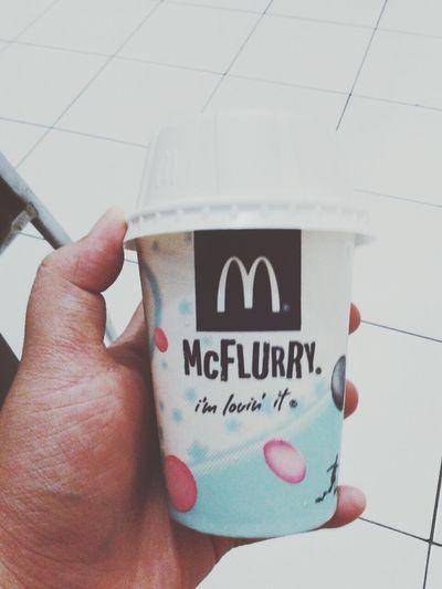 Food McFlurry  Yummy!!