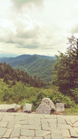 Smoky Mountains Lookout. Cloud - Sky Outdoors Hikingadventures Gatlinburg Tennessee Mountains Mountain Range Mountainview