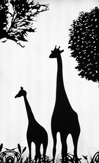 Shades Of Grey Zoocoffee Giraffe