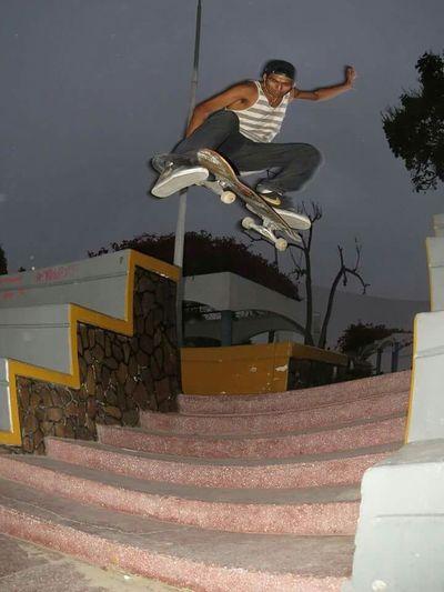Ollie Nor Big Jump Awesme Skateboarding Skateboardingisfun LoveSkate/friends/skateboarding