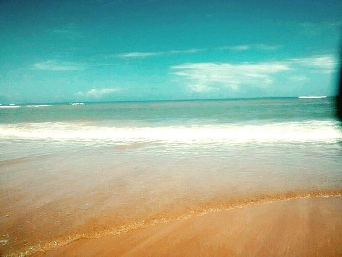 Céu , praia e mar??