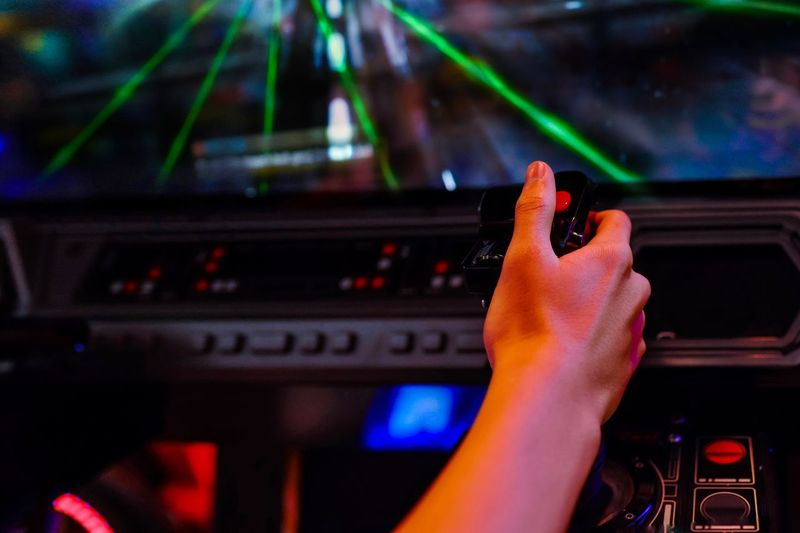 Gaming time Lifestyles Red Shooting Screen Console Buttons Button Excited Excitement Entertainment Joyful Moments Joystick Gaming Game Human Hand Music One Person Control Panel Human Body Part Hand Arts Culture And Entertainment Indoors  Technology Control Real People Personal Perspective Performance Body Part HUAWEI Photo Award: After Dark #urbanana: The Urban Playground