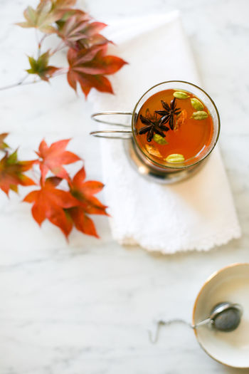Cocktail Drinks Fall Colors Fall Food Anise Autumn Chai Tea Cocktails Drink Drinking Fall Fall Leaves Food And Drink Herbal Tea Hot Toddy Leaf No People Refreshment Tea - Hot Drink Whiskey