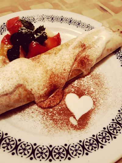 Food And Drink Indoors  No People Food Close-up Sweet Food Ready-to-eat Pancakes Pancake Pancake Time Pancakes♥ Pancakeday Heart Heart Shape Heart ❤ Love Love Is In The Air