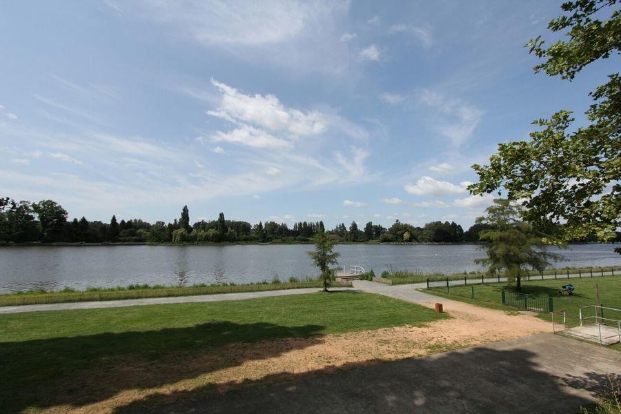 Vichy Auvergne River Landscape