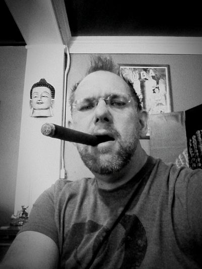 Good Karma is the best Cigar place there is. Black And White