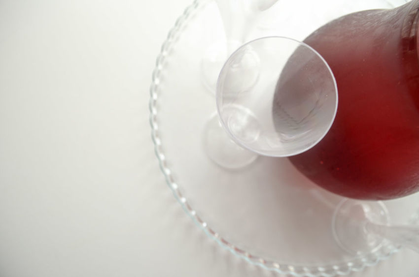 Close-up Cup Drink Drinking Drinking Glass Drinks Focus On Foreground Fresh Freshness Freshness From Above  Glass Glass - Material Indulgence No People Onthetable Part Of Red Serving Size Still Life White White Album White Background White Color WhiteCollection