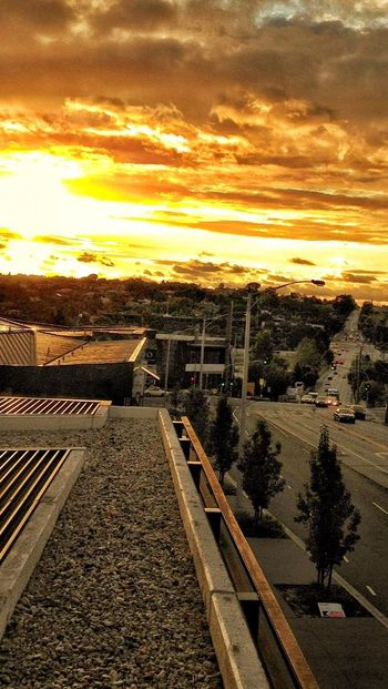 Sunset in Melbourne overlooking Toorak Rd... ♡melbourne Sunset Street Photography Enjoying The Sunset