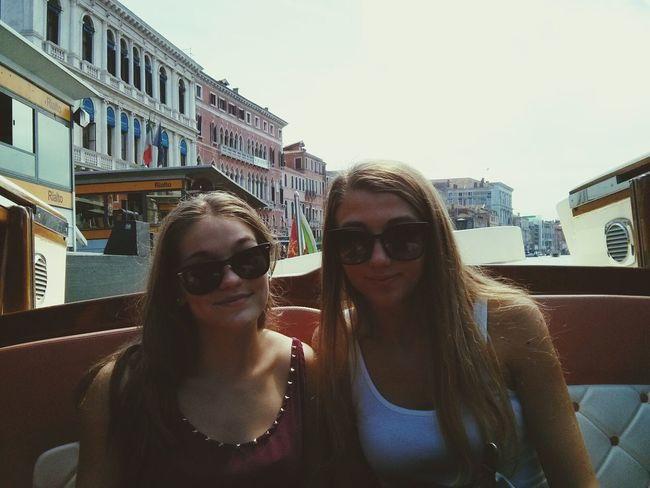 having fun in Venice Venice Boat Chill
