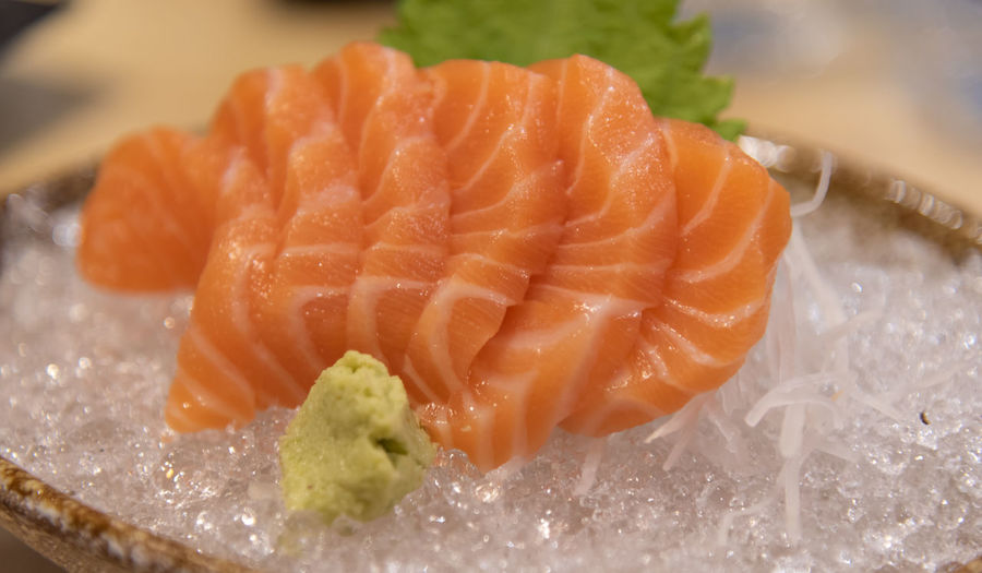 Food Food And Drink Seafood Sashimi  Healthy Eating Japanese Food Asian Food Freshness Close-up Fish Indoors  Raw Food Salmon - Seafood Wellbeing No People Sushi Studio Shot Rice Animal Dinner
