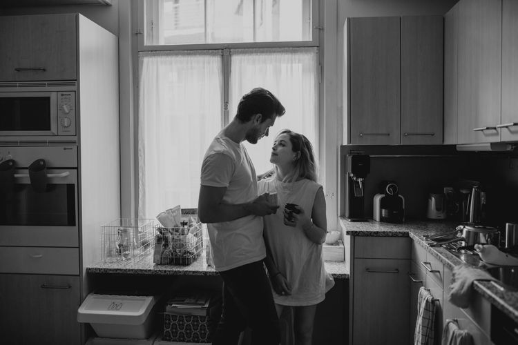 Coffee Couple Cuddle Happiness Morning Morning Coffee Relationship Boyfriend Couplegoals Domestic Room Feelings Girlfriend Joy Kitchen Lifestyles Relationshipgoals Human Connection