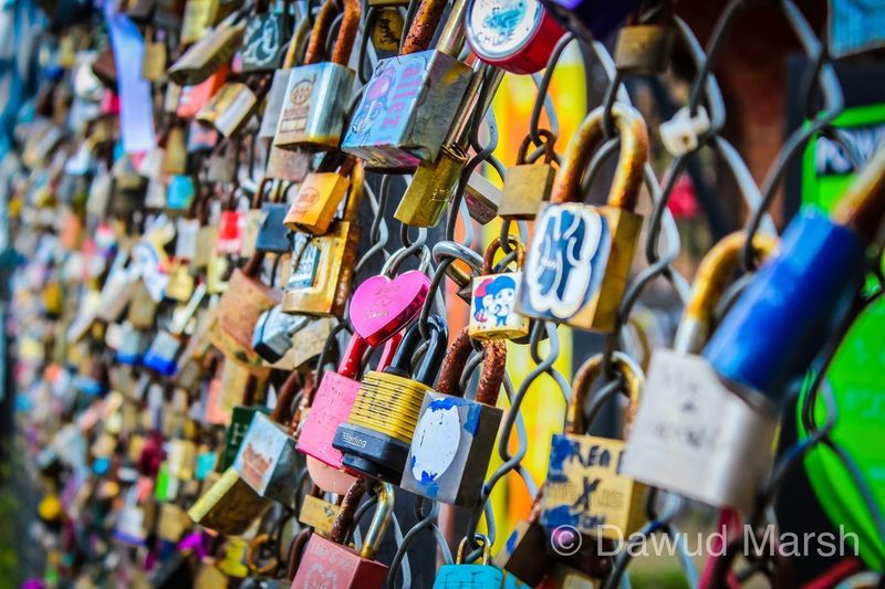 Love Lockets Forget Me Not Remember Lockets Love Multi Colored Choice Abundance Hanging Full Frame Variation Large Group Of Objects Selective Focus Safety Security Backgrounds No People Padlock Day Lock Protection Positive Emotion Close-up Metal Outdoors