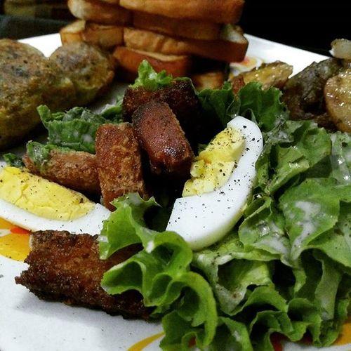 Homemade Caesarsalad SundayDinner Onepluslife OnePlusX