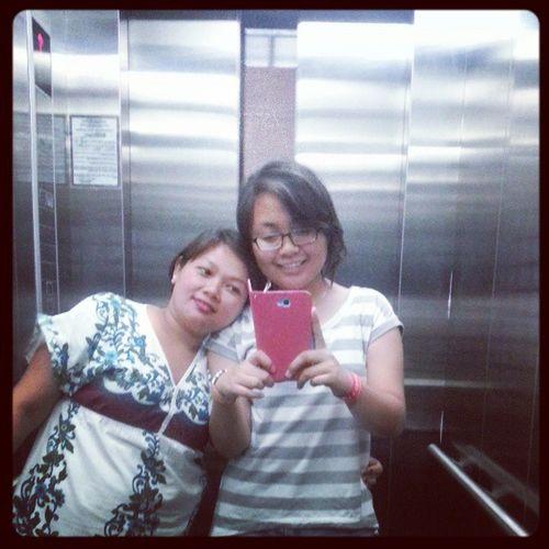 The elevator shot. ? HAGGARD NA. ???????????? DI PA NAKAIN! ??? Summerescape2013 Flood @refinnejlacsamanabaes