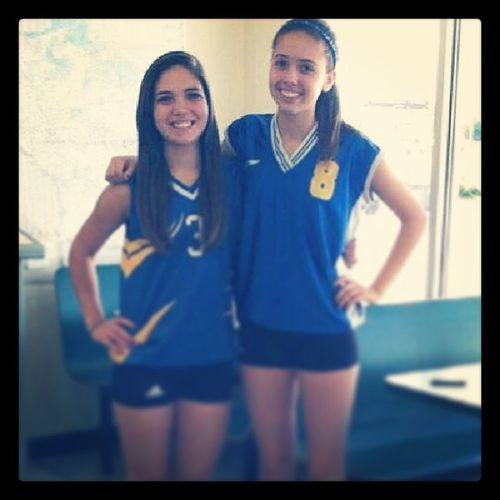 WCW my sistaa:* Haley Gramless Volleyball tournament throwback shell marion 3 8 black spandex blue jersey