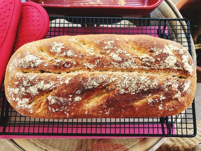 Homemade Bread, Breakfast, Cake, Close Up, Decoration, Eat, Eating, Family Cake, Food, Home, Home Made, Orange, Pick, Red Dish, Spoon Cake, Steal, Sweet, Sweets, Temptation, Torta Paesana, Window Esposition, Window Ligth Baked Bread Backwaren Chleb Yummy Breakfast Foodie Food And Drink Lecker Lekker Gebackenes Gesund Brot Food And Drink Food Freshness No People Still Life Close-up Healthy Eating Baked Ready-to-eat Bread Table Day Indoors  High Angle View Indulgence Wellbeing