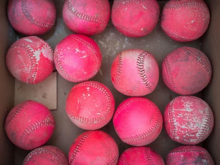 Pink Baseballs
