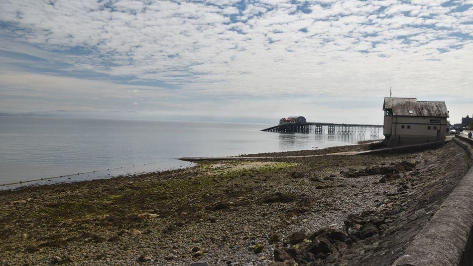Taking Photos Mumbles Beach Slipway Pier Nikon D5500