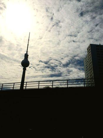 Berlin Alexander Platz Fernsehturm Alexanderplatz Hackescher Markt Sky And Clouds Cityscapes Something Special