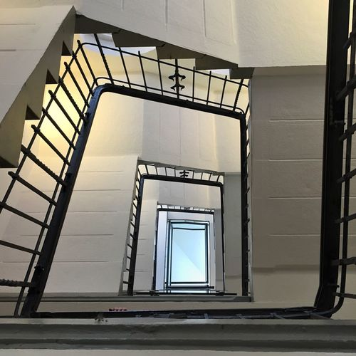 Just another staircase :-) Stairs Stairs_collection Staircase Stairways Architecture Architecture_collection Architectural Detail Urban Geometry Geometry Geometric Shapes Upstairs