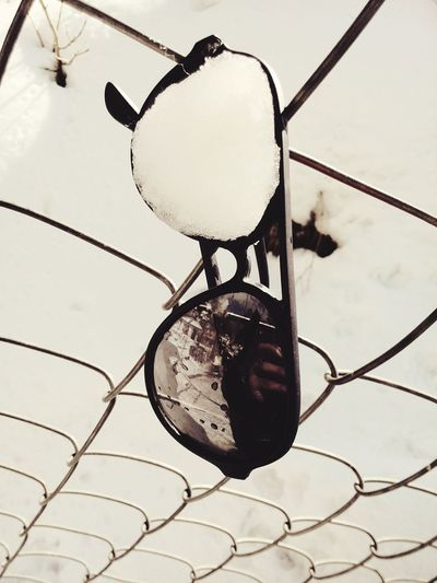 Sun Glasses Snow ❄ Chilling ✌ Damaged And Wrecked Today's Weather Report Hillside