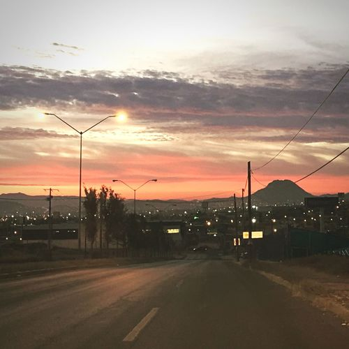 Wake up Chihuahua Sky No People Nature Outdoors Sunrise First Eyeem Photo Fresh On Eyeem  Leo Sáenz Mexico Sunlight Adapted To The City