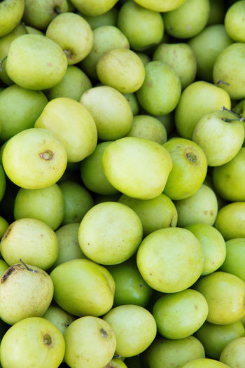 jujube fruit Jujube  Abundance Backgrounds Close-up Day Food Food And Drink For Sale Freshness Fruit Full Frame Green Color Healthy Eating Jujube Fruit Large Group Of Objects Monkey Apple No People Outdoors Retail