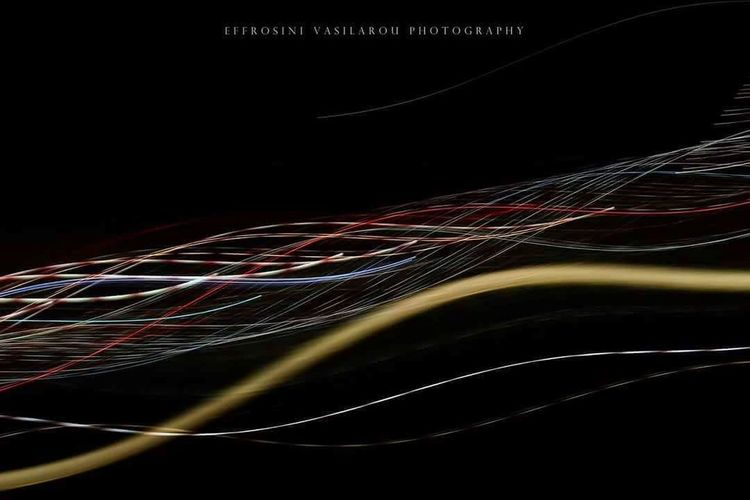 Colours Ripples Lines Lights The Creative - 2018 EyeEm Awards Light Painting Humanity Meets Technology