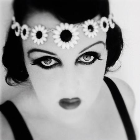 Blackandwhite 1920s Vintage Blurred Eyes Self Portrait Black And White Portrait Shades Of Grey B&W Portrait
