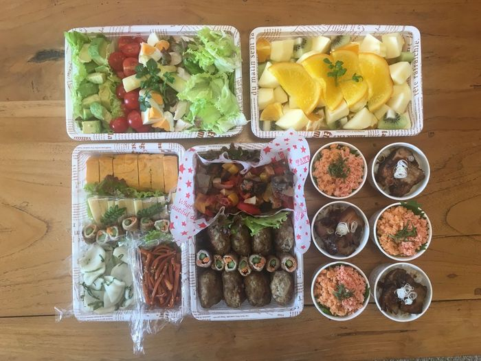 Home Made Japanese Food Lunch Box 差入れ 楽屋弁当 お弁当 Food Food And Drink Freshness Choice Healthy Eating Variation Wellbeing Fruit Vegetable