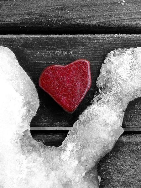 Lonely heart made of stone Abandon Abstract Photography Alone Black And White Close-up Cold Concrete Depressions Down Ego Emotion Heart Hurt Isolation Loneliness Lonely Love Message Quit Red Romance Sadness Sorrow Stone Material Weathered