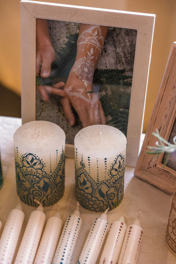 One Person Indoors  Human Body Part Art And Craft Creativity Pattern Design Human Leg Adult Real People Human Hand Body Part Close-up Lifestyles Focus On Foreground Low Section Hand Leisure Activity Tattoo Floral Pattern Human Foot Finger