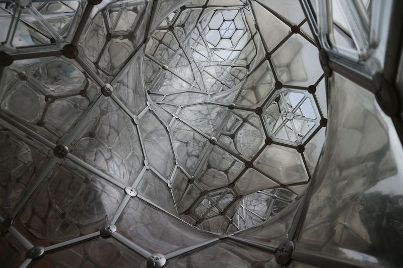 Architecture Backgrounds Bubble Bubbles Close-up Day Full Frame Grid Hexagonal Honeycomb Indoors  No People Panels Pattern Textured  Transparent Web