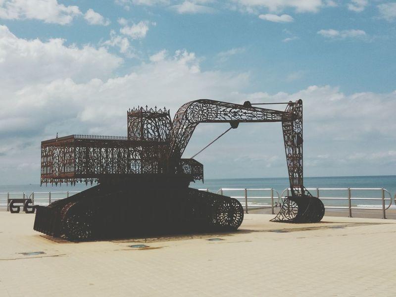 Art Art Is Everywhere Sea And Sky Seascape Sealife Sea View Sand Beach Westende Middelkerke Belgium