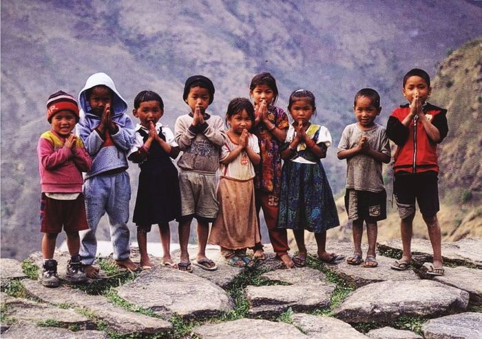 Photo repost Nepal Pray For Nepal Children Love pray for you