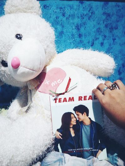 Team Real 💑💕 Love Teamreal JADINE First Eyeem Photo