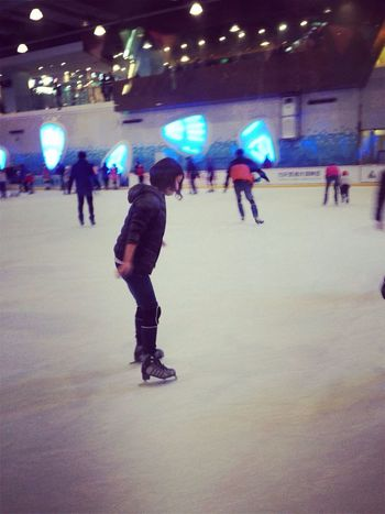 Skating at Benz centre