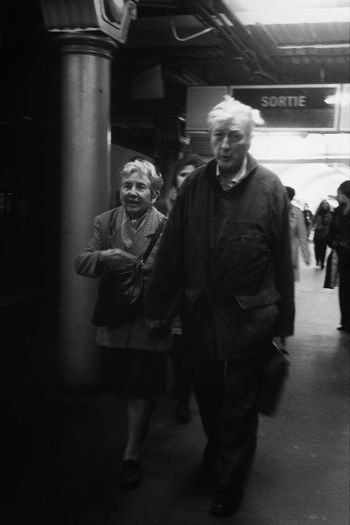 Subway IPhoneography Blackandwhite Lovers