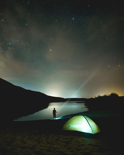 Nigthscapes Night Nightphotography Stars Sky Sky Stars Camping Desert Outdoors Nightlights Flashlight Adventure Astrophotography Lake Tent Camping Life Peru Peruvian Ica Dunes