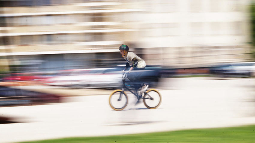 Activity Bicycle City Cycling Motion Ride Speed Sport Street Photography Unrecognizable Person