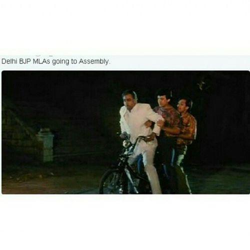 Delhielections BJP LMAO
