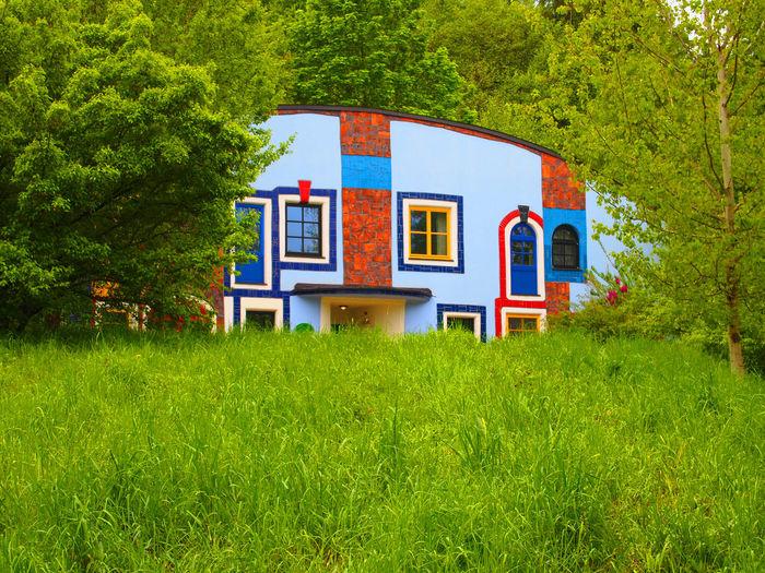 Architecture Austria Bad Blumau Built Structure Hundertwasser Hundertwasserhaus No People