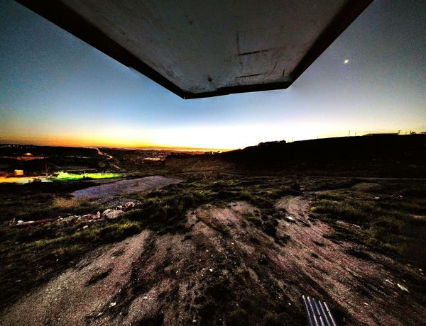 View from a Post Taking Photos Relaxing Nature Beautiful Point Of View Desert Sunrise Lowlight First Eyeem Photo
