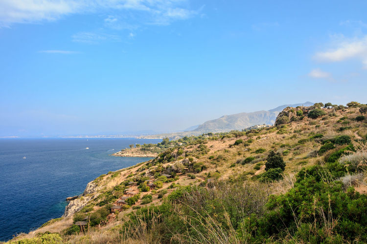 EOS Italia Sicilia Sicily Sicily, Italy Beauty In Nature Canon Canonphotography Day Europe Horizon Over Water Idyllic Italy Land Landscape Nature No People Outdoors Scenics - Nature Sea Sky Tranquil Scene Tranquility Water