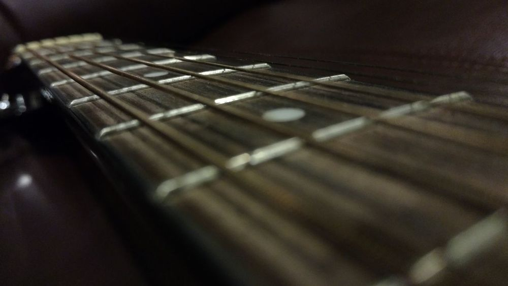 Close Up Closeup Closeupshot Fret Board Fretboard Frets Guitar Guitar Neck Guitars Music Musical Instrument Strings