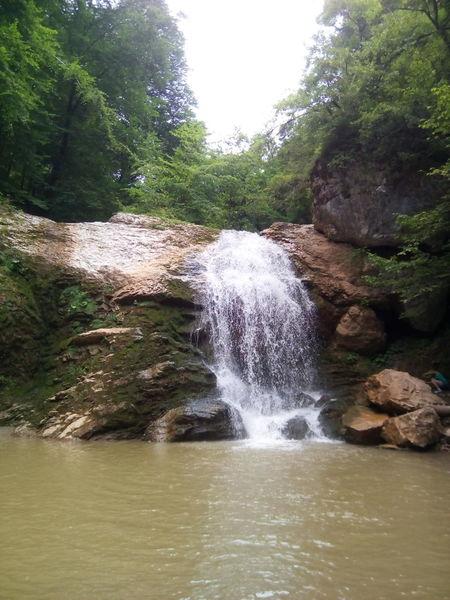 Nofilter Waterfall Water River Daylight поток река водопад Адыгея Adygeya