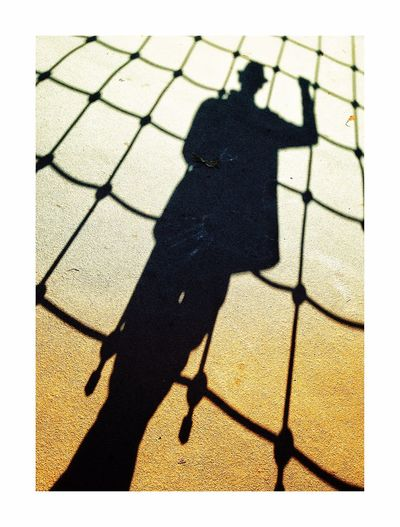 Spider shadow Shadow Focus On Shadow Sunlight Silhouette Outdoors Day One Person People