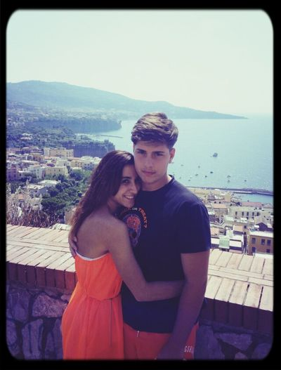 Sorrento Naples with Mygirlfriend