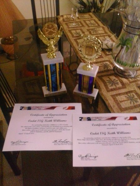 my awards nd trophies