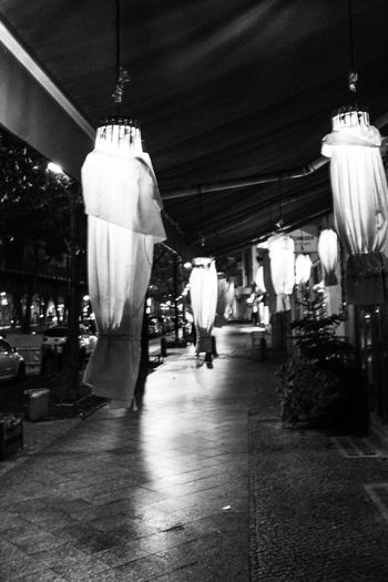 New Year Urban Lifestyle Blackandwhite Black And White Illuminated Night Architecture No People